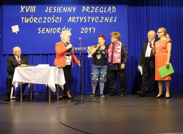 Jesienny Przegląd Twórczości Artystycznej Seniorów w Kąkolewnicy