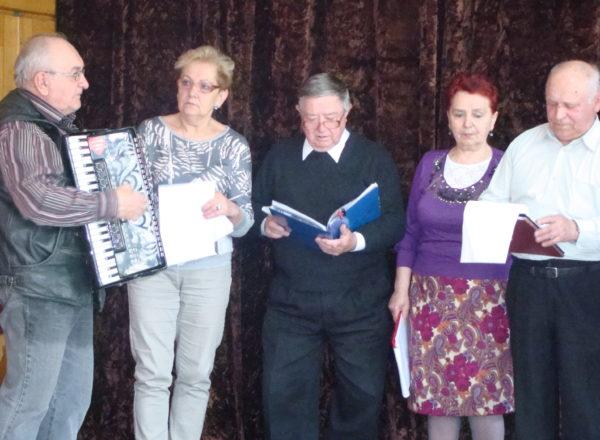 Próba Seniorów Klubu Literackiego Walerianki