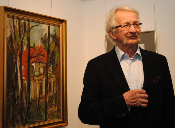 Zaproszenie na wystawę Macieja Falkiewicza + zdjęcia