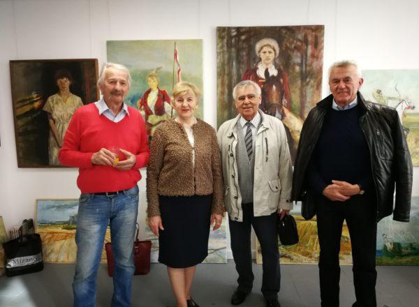 Wystawa obrazów Macieja Falkiewicza
