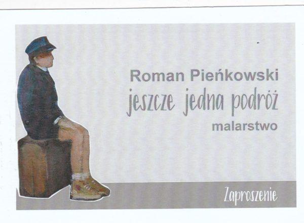 Wystawa obrazów Romana Pieńkowskiego 5.X.2018r.